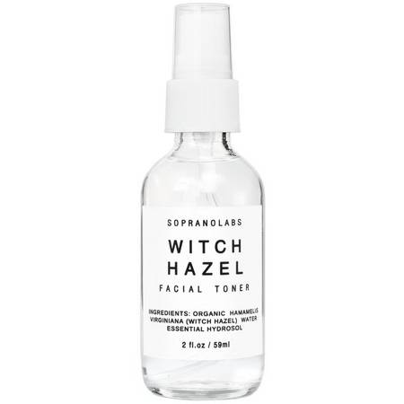 SopranoLabs Witch Hazel Firming Mist Organic Face Toner