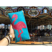Julie Mollo! Flamingo Clutch!