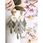 Pearl and Ivy Studio Olive Tendril Earrings