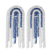 Koko and Lola Swarovski Crystal Beaded Statement Earrings