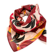 "Chan Graphics Lady Falcon Cotton Silk 26"" Square Scarf"
