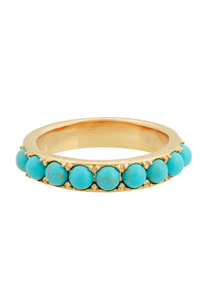 Five and Two Isla Turquoise Ring