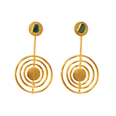 Tao Company Circular Drop Earrings