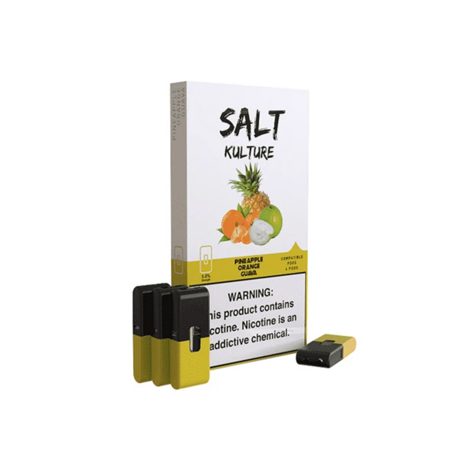 Salt Kulture Pineapple Lemonade Juul Pods