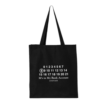21 Savage Bank Account Tote