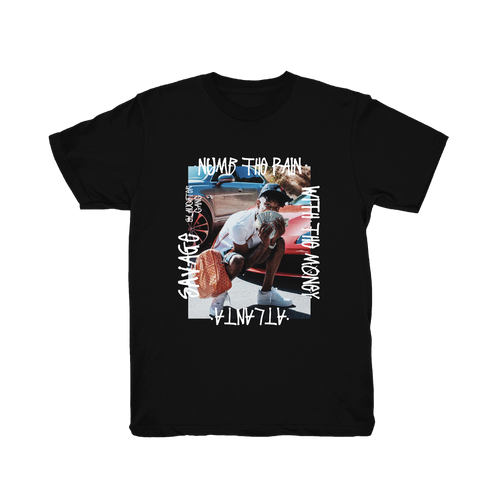 Numb The Pain Black T-Shirt