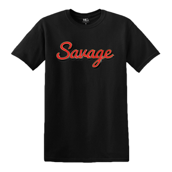 Savage Pin Logo Tour T-Shirt