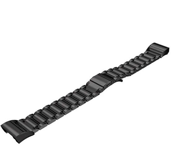 Steel Link Band for Fitbit Charge 2, Stainless Steel Bracelet Replacement Strap