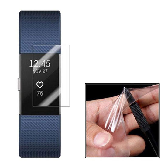 Screen Protector for Fitbit Charge 2, Scratch Resistant Film
