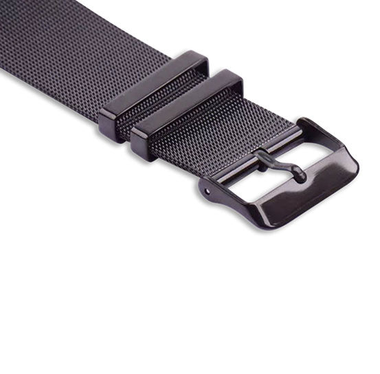 Milanese Buckle Band for Apple Watch, Stainless Steel Bracelet Replacement Strap