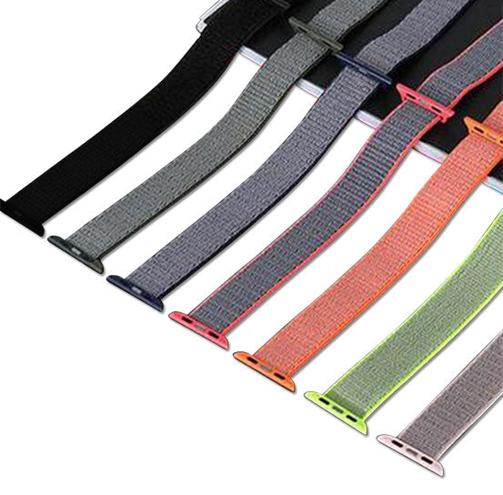 Sports Nylon Band for Apple Watch, Nylon Bracelet Replacement Strap