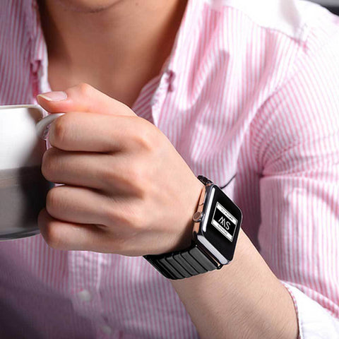 There are so many types of Apple watch bands. Here are just some of them.