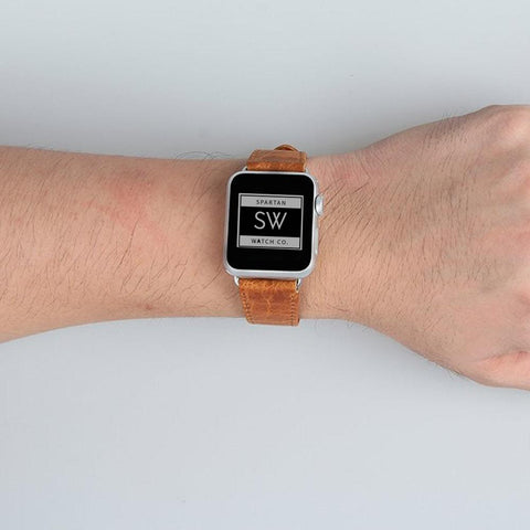 Apple Leather Band