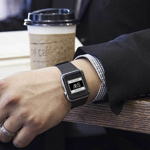 Is an Apple watch band compatible with a Fitbit blaze?