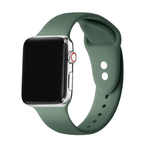 Apple silicone band