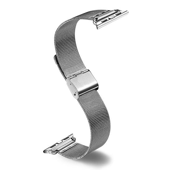 Milanese Clasp Band for Apple Watch, Stainless Steel Bracelet Replacement Strap