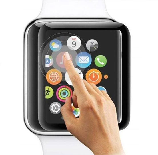 Screen Protector for Apple Watch, Tempered Glass