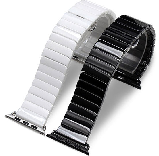 Ceramic Band for Apple Watch, Ceramic Bracelet Replacement Strap