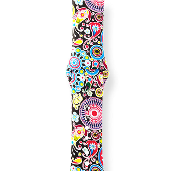 Design Print Band for Apple Watch, Silicone Bracelet Replacement Strap
