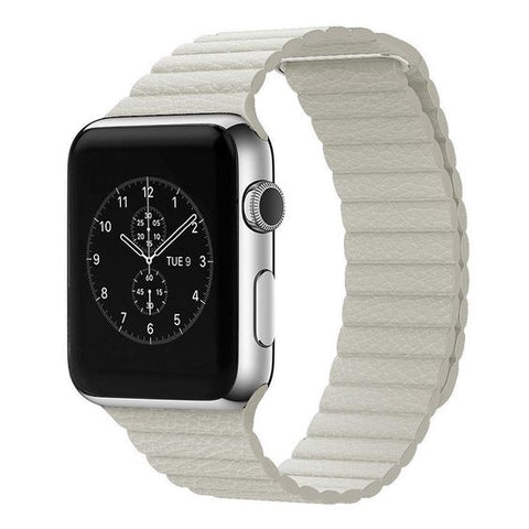 leather loop strap apple watch