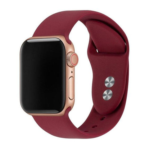 silicone apple watch