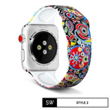Watchband Store Design Print Band for Apple Watch Design Print Silicone Band for Apple Watch