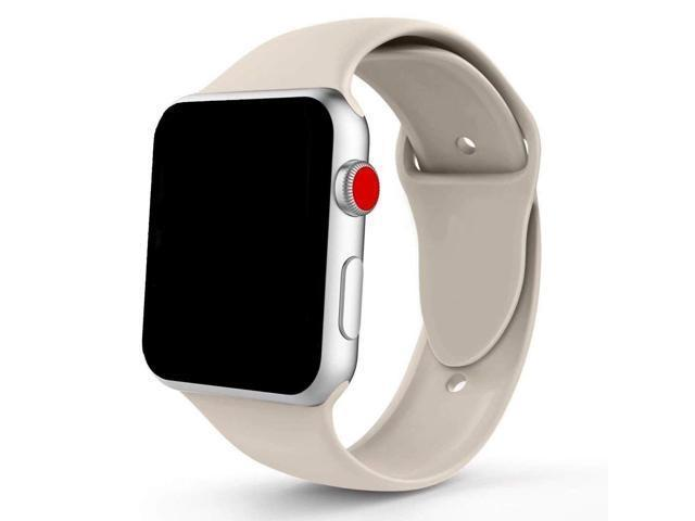 Spartan Watches 38mm | 40mm Large FINAL SALE: Silicone Band for Apple Watch, Antique White