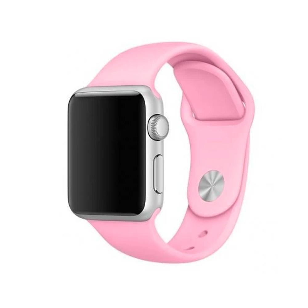 Spartan Watches FINAL SALE: Silicone Band for Apple Watch, Pink, 42mm | 44mm