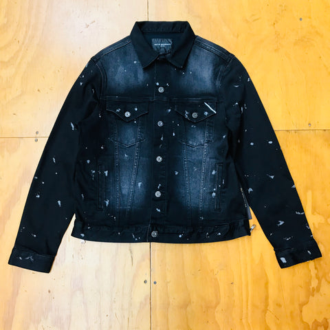 Cult Of Individuality Denim Jacket 67B12-JW35A Solar