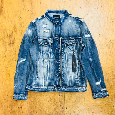 Cult Of Individuality Denim Jacket 67B8-JF32A Zepher