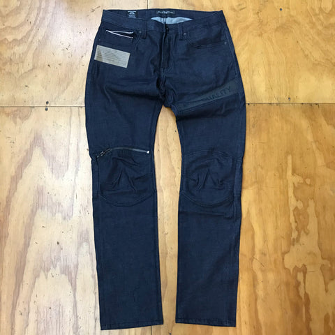 Cult Of Individuality Greaser Moto Jeans 68A1-GM17B Raw