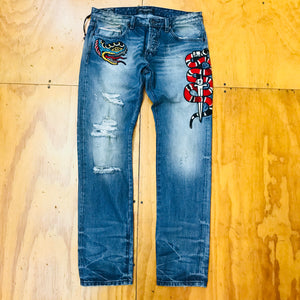 Cult Of Individuality Jeans Greaser Slim Straight 68A1-G01L Flea