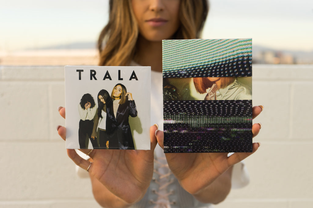 TRALA AUTOGRAPHED EP + POSTER
