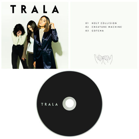 TRALA AUTOGRAPHED EP