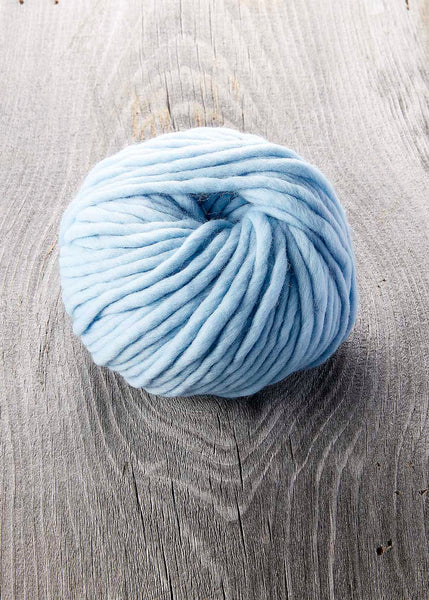 Mama Knows Luxury Sugarbush Chill Arctic Sky Blue yarn