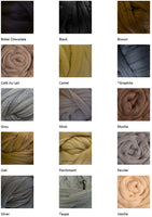 Yarn options for Mama Knows Luxury Big Yarn Hat and Cowl Pattern and Yarn Knitting Kit