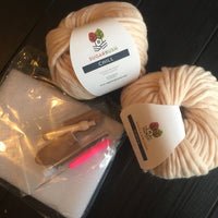 Mama Knows Luxury Twist Top Yarn and Pattern Knitting Kit made in Canada