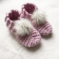 Ladies Lux Slippers Crochet Kit