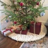 Peony and Thyme Christmas Tree Skirt Kit