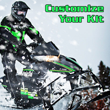 CUSTOMIZE YOUR SLED WRAP KIT