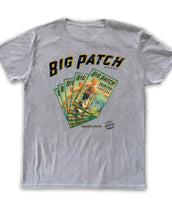 Big Patch, California Wave, Mens Crew Neck Tee