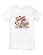 Bush Whackers, California Wave, Women's Crew Neck Tee