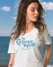 Smoke You Up, California Wave, Women's Crew Neck Tee