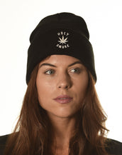 Acrylic Toque, Holy Smoke, Unisex Black Toque