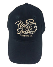 Heavy Cotton, H.S.J., Holy Smoke, Unisex Black Cap
