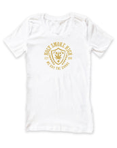 H.S. High, Holy Smoke, Womens Crew Neck Tee