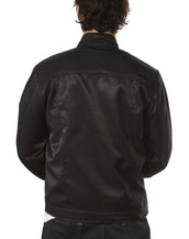 Mens Stand Up Collar, Holy Smoke Jacket
