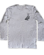 Lounge Lizard, California Wave, Unisex Long Sleeve Crew Neck Tee