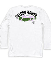 Passion flower, California Wave, Unisex Long Sleeve Crew Neck Tee