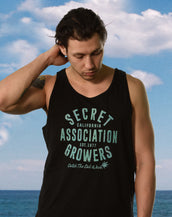 Secret Growers, California Wave, Unisex Tank Top
